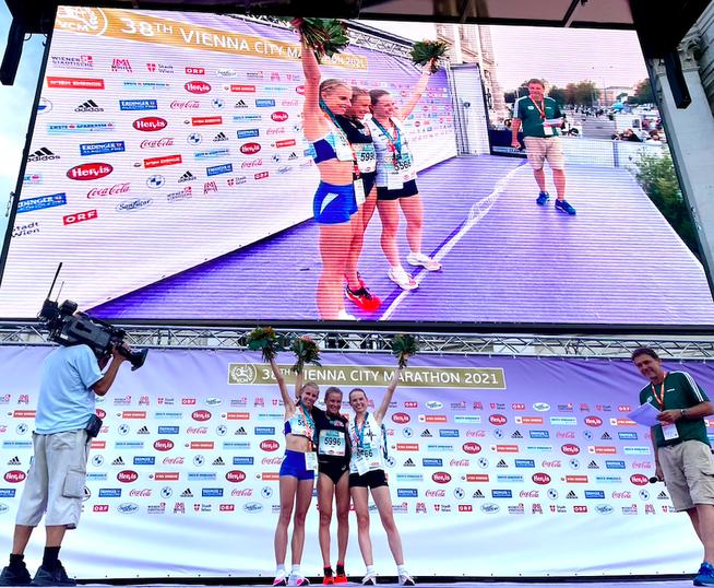 Julia Mayer österreichischer Rekord vcm Vienna 10k wien Bestzeit Andrea Mayr ölv 10km Straße 32:54 Dsg wien Bundesheer