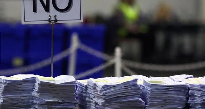 Изображение: ЕС ослабление - выход из союза по референдуме