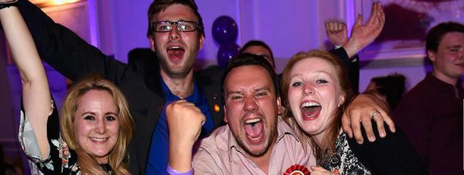 Immagine: Entusiasmo per la nostra nuova Europa!
