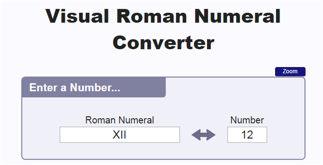 http://www.dadsworksheets.com/roman-numeral-converter.html