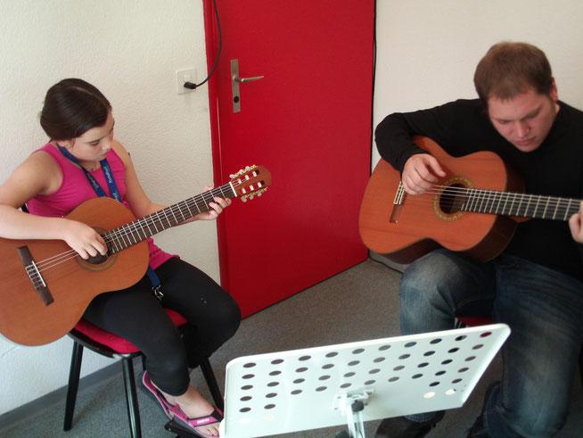Classic Gitarren Unterricht
