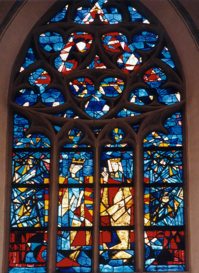 Donauwörth, Stadtpfarrkirche zu unserer lieben Frau, Marienkrönung 1959