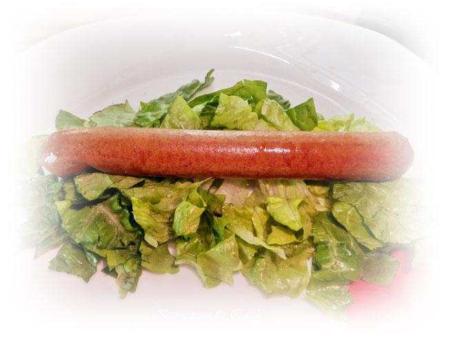 Veganes  Wiener Würstchen - gebraten