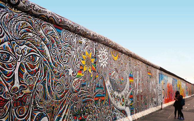 Berliner Mauer © ADFC