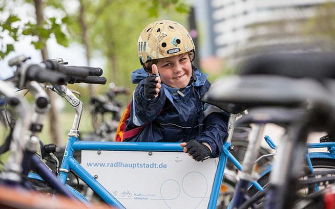 Neubürgerradltouren in München ©Radlhauptstadt München