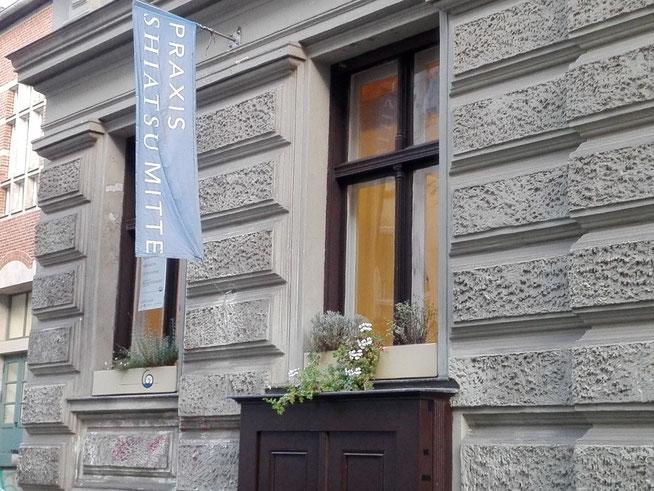 Ausßenansicht Praxis Shiatsu Mitte Gormannstraße 12 , Foto Theda Lindloff