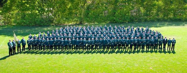 Unsere Mitglieder: Aufnahme beim Schützenfest 2011