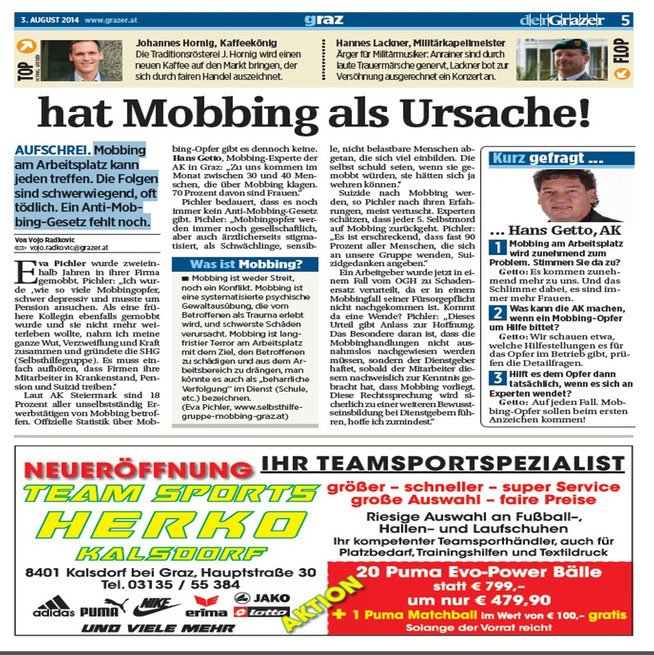 derGrazer 03.08.2014