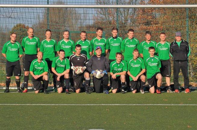 Männermannschaft des SV Mühlenbeck @Helge Warnoch