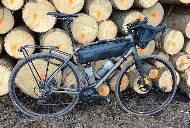 Specialized Diverge, Specialized Burra Burra Framepack, Bikepacking, Gravelbike