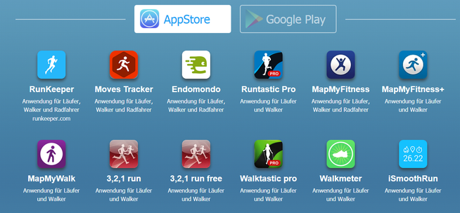 Kompatible Apps