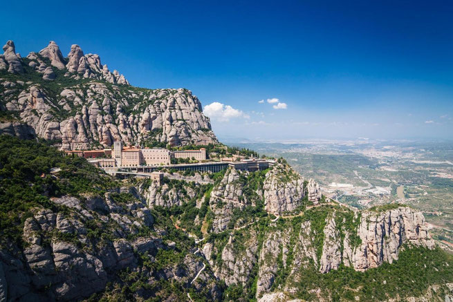 Экскурсия на Монсеррат, монастырь