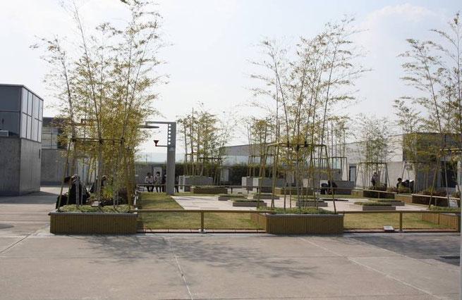 "le ""jardin suspendu"" de la gare de Kyōto"