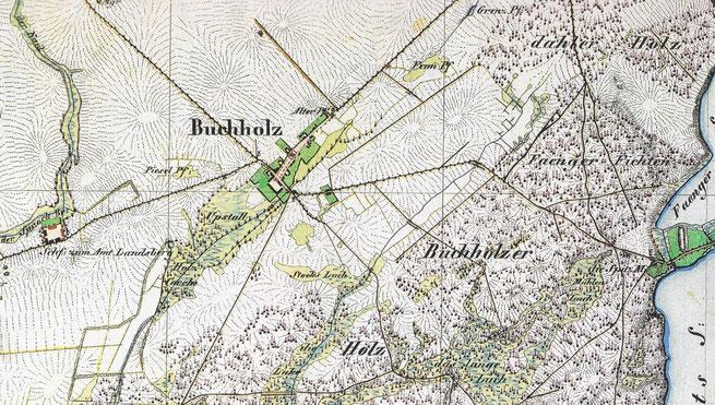 Urmessblatt von 1839