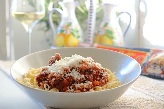 Spaghetti with Ragu alla Bolognese