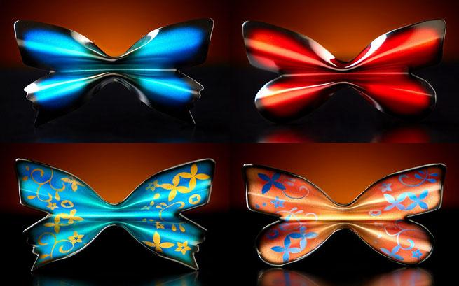 金属製 蝶ネクタイ Metal Butterfly ユニークでオシャレな蝶ネクタイ