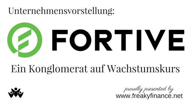 freaky finance, Fortive Logo, Aktie, Konglomerat