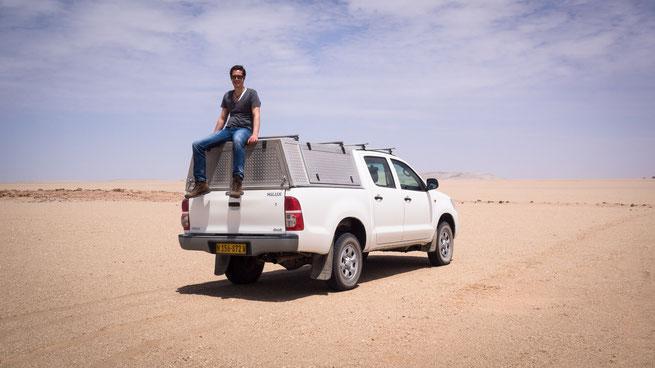 Toyota Hilux Namib Wüste Namibia