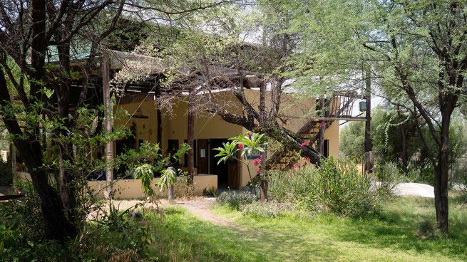 Makgadikgadi Nationalpark, Tiaan`s Camp