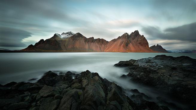 Langzeitbelichtung | Vestrahorn | Island 2016