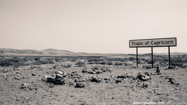 tropic of capricorn namibia