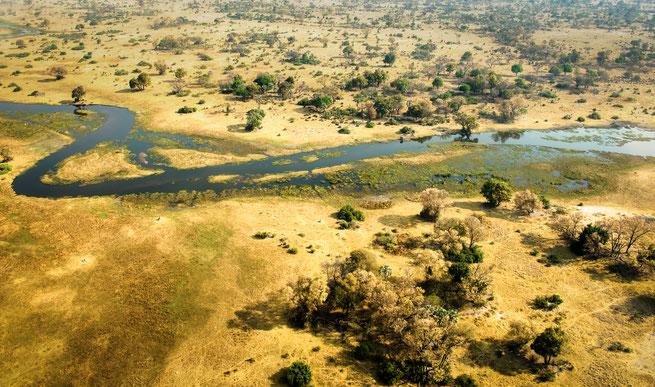 cessna round flight | okavango delta | botswana