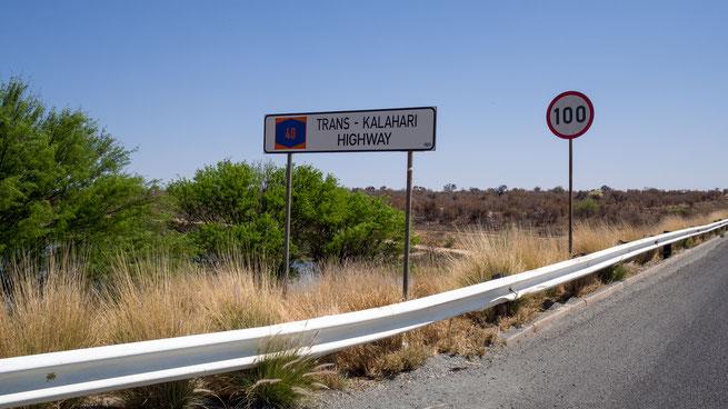 trans kalahari highway | namibia