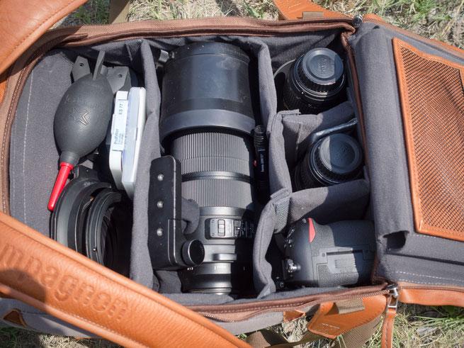 """mein ganz persönlicher """"the backpack"""" von compagnon"""