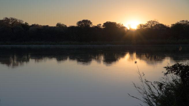 baumhaus sonnenaufgang | ngepi camp | caprivi strip | kavango | namibia