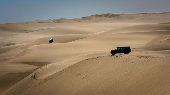 Dünen Namib Wüste Namibia