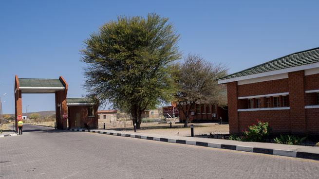 boarder | kalahari | botswana namibia