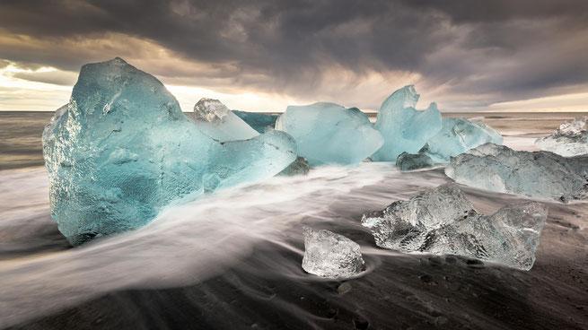 Langzeitbelichtung | Jökulsarlòn | Island 2016