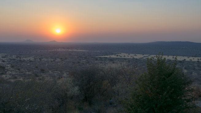 sundown | Aloegrove Safari Lodge | namibia