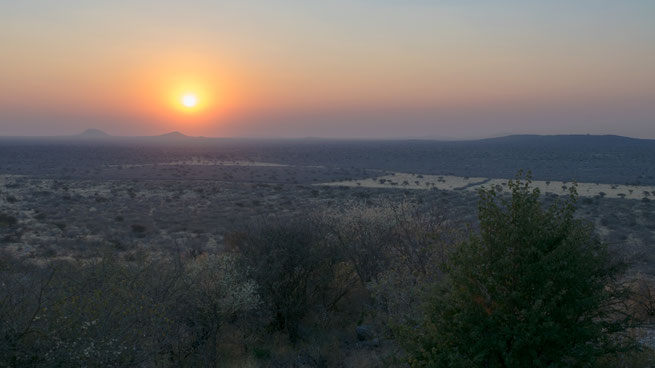 sundown | Aloegrove Safari Lodge | namibia