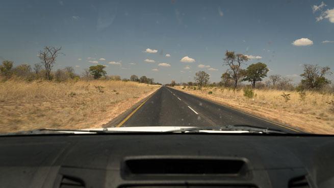 on the road | botswana
