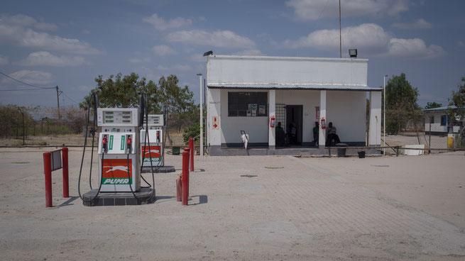 tankstelle in rakobs botswana