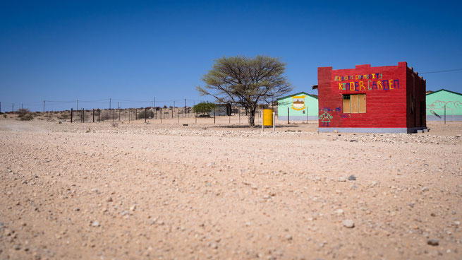 Kindergarten Spitzkoppe Namibia