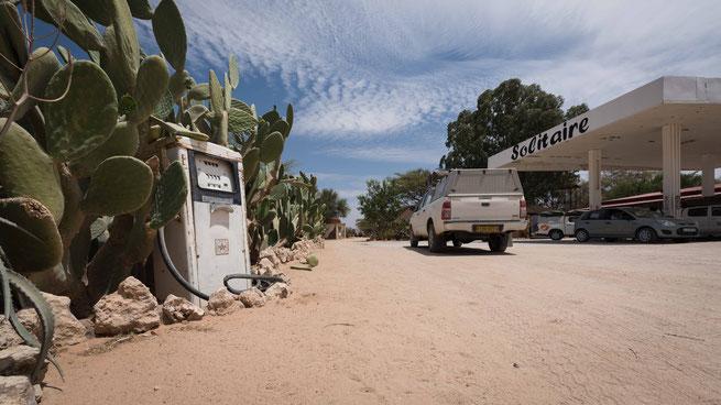 Tankstelle Solitaire Namibia