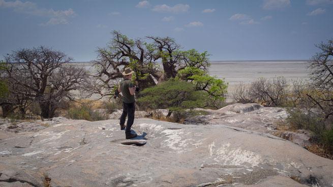 kubu island botswana 2017