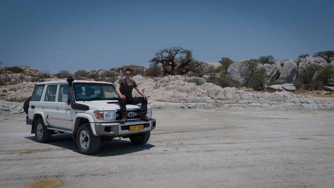 kubu island - makgadikgadi pans botswana
