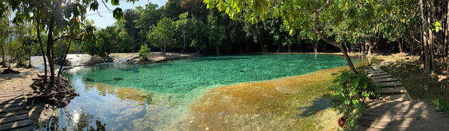 Panorama vom Emerald Pool