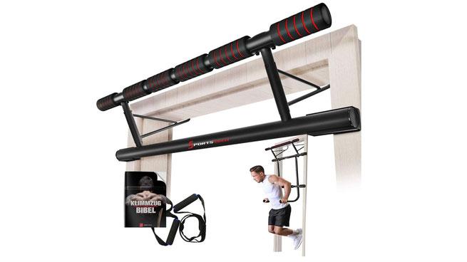 Sportstech-Klimmzugstange für den Türrahmen