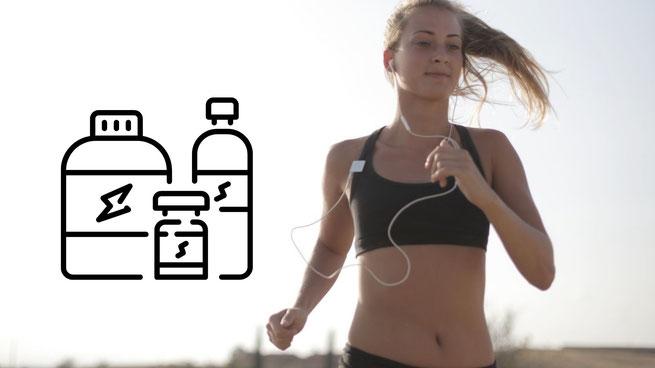 Nahrungsergänzungsmittel für Läufer