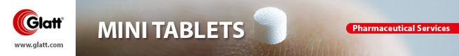 Minitablet by Glatt Pharmaceutical Services
