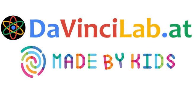 Logos von DaVinciLab und #Madebykids