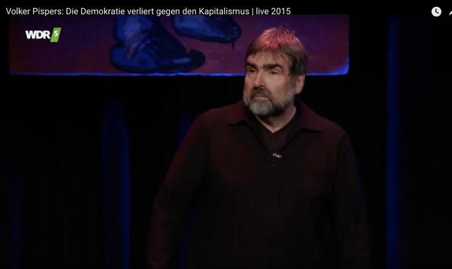 Volker Pispers über Demokratie und Kapitalismus