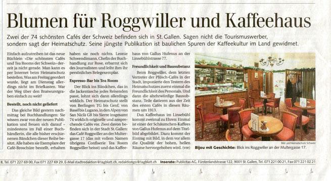 Das schönste Café von St. Gallen