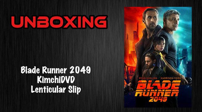 Blade Runner 2049 KimchiDVD Lenticular Slip Unboxing