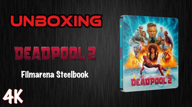 Deadpool 2 Filmarena Steelbook Unboxing
