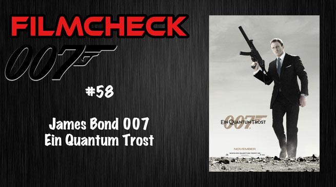 James Bond 007: Ein Quantum Trost Kritik/Review #58